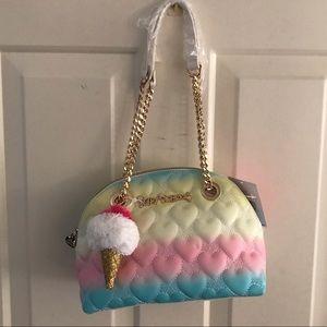 NEW ‼️ Betsey Johnson rainbow dome satchel